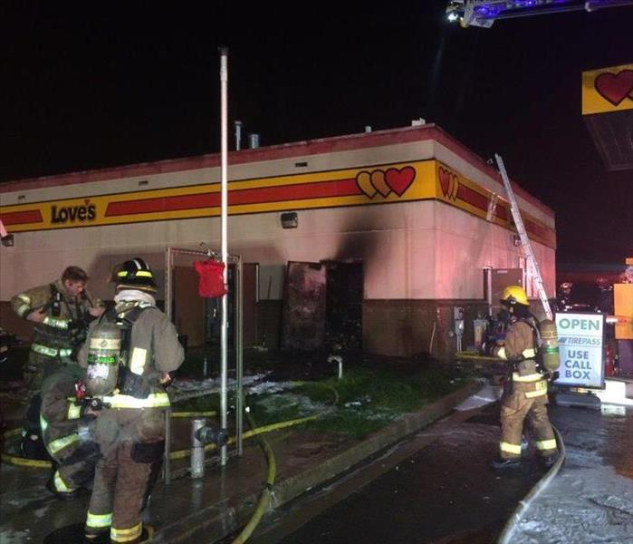Commercial Fire Loss - Roseburg, OR Before